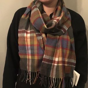 Avoca Jonathan Swift Merino Scarf made in Ireland
